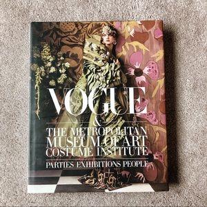 Vogue Metropolitan Museum of Art Coffee Table Book